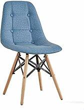 MFC Stuhl Kreativität moderne einfache Studie Bürostuhl Schreibtisch Hocker Rückenlehne Erwachsenen Esszimmerstuhl (Farbe : 6)
