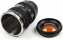 MFEIR® Kamera-Kaffeetasse Camera Lens Mug Lens