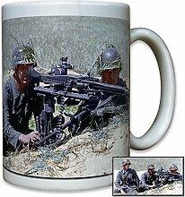 MG42 Maschinengewehr Soldat Infanterie Division WK 2 Foto - Tasse Becher Kaffee #10225