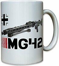 Mg42 Waffe Knochen Säge Maschinengewehr Munition Wh Dauerfeuer Deutschland Wk - Tasse Kaffee Becher #7999