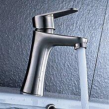 MGADERO Wasserhahn Bad Waschtischarmatur Edelstahl