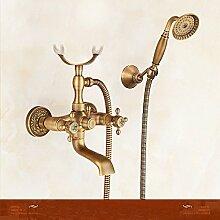 MGADERO Wasserhahn Mischbatterie Antike Badewanne