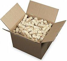 mgc24 Anzünder aus Holzwolle und Wachs Ofenanzünder Kaminanzünder Grillanzünder Ökologisch Kaminholzanzünder Holzanzünder 12kg (ca. 1000 Stück)