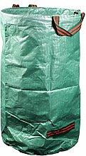 mgc24 Gartensack 120 Liter für Laub und Grünschnitt | Laubsack, Gartenabfall, Grünabfall | 150 g/m²