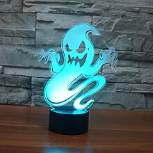 MGDFD Ghost Touch Tischlampe 7 Farben Ändern