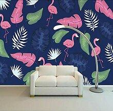 Mgdtt Tropische Flamingo Hintergrund Wandbild