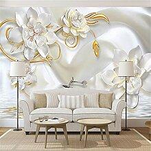 MGMMural 3D-Fototapete Wandbild Boy Modern Weiß
