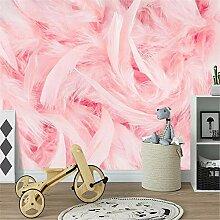 MGMMural 3D-Fototapete Wandbild Boy Pink Tiere