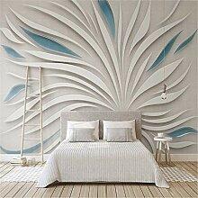MGMMural 3D-Fototapete Wandbild Boy Weiß Streifen