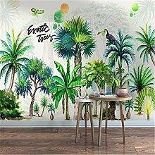 MGMMural 3D Wallpaper Fototapete Grün Bäume
