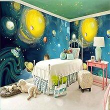 MGMMural 3D Wallpaper Fototapete Karikatur Galaxie