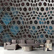 MGMMural 3D Wallpaper Selbstklebendes Rundes Loch