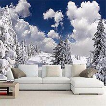 MGMMural 3D Wallpaper Selbstklebendes Weiß Wolken