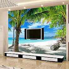 MGMMural 3D Wandbild Selbst-Adhesive Meer Strand