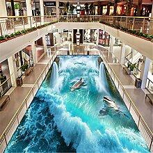 MGMMural Fototapete 3D Effekt Wasserfall Wellen