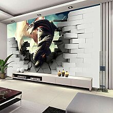 MGQSS 3D Wandbild selbstklebende Tapete 3D