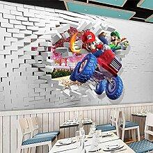 MGQSS 3D Wandbild selbstklebende Tapete