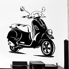 mgrlhm Wall Vinyl Aufkleber Roller Fahrrad