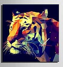 MGS-Wanduhr@Modern/Zeitgenössisch Tiere
