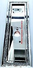 MH Diamant Crush Silber Spiegel Flur Landing Wand