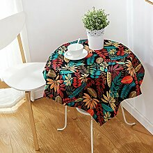 MH-RITA American Country Garden Kleine Frische Tischdecken Cotton Linen Ein 140 * 240Cm