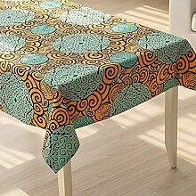 MH-RITA American land Tuch Tuch Baumwolle Tischtuch rechteckige Tischdecke Tischdecke Wohnzimmer TV-Schrank. Ein 140 * 180 cm