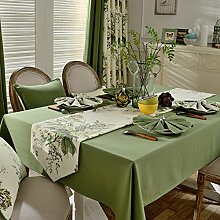 MH-RITA American Pastoral Tischdecke Tischdecke Tuch Baumwolle Tischdecke Tisch rechteckig modernen minimalistischen Runner H 60 X 60 Cm
