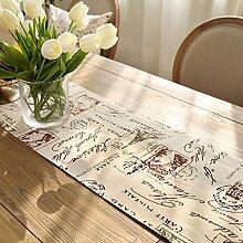 MH-RITA amerikanische Baumwolle Stoff drucken Geschenk Lepra frisch Garten TV-Schrank Tisch Runner's Bed C 35 X 200 Cm.