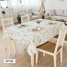 MH-RITA Amerikanische Ländliche frischen Baumwolltuch Tischdecke Tischdecke Tuch rechteckige Wohnzimmer TV-schrank Hot Air Balloon 140 * 140 cm