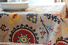 MH-RITA Baumwolltuch Sofa Tee Tischdecken Tischdecke Tabelle 2 140 * 200