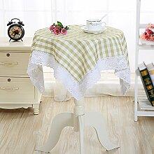 MH-RITA Cleaning Free langen Esstisch Tischdecke Servietten B 140 * 140 cm Abdeckung kleiner runder Tisch