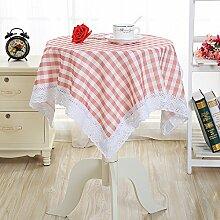 MH-RITA Cleaning Free langen Esstisch Tischdecke Servietten J 80 * 80 cm Abdeckung kleiner runder Tisch