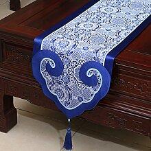 MH-RITA Die neue chinesische Seide Geschenk die Tabelle, in der ein Tisch Bett Mat's einfache moderne Möbel aus Mahagoni Tischdecke W 35 X 180 Cm.