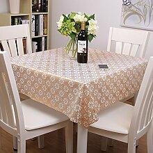 MH-RITA Gold Lace Tischsets Kaffee Pad C 137 * 137 cm Wasserdich