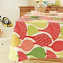 MH-RITA Neoklassische Postmoderne Baumwolle Verdickung Geometrische Tischdecken Tischdecken Tee Tischdecken 120 * 120 Cm