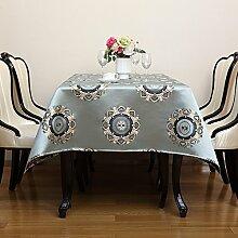 MH-RITA Tischdecken Europäischen Stil Luxus - Tischdecke Tuch Kunst Amerikanische Tischdecken B 140 * 200