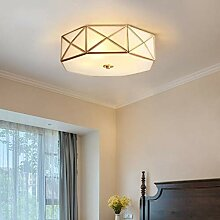 MHBGX Lampe, Glas-Deckenleuchte Design Retro