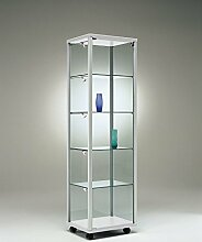 MHN Ausstellungs- Glas-Vitrine abschließbar