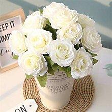 MHOYI Blumen, künstliche Blumen, Seide,