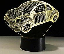 MHXXYD 3D Led Nachtlicht Stimmungslampe Für