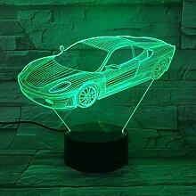 MHXXYD 3D Optical Illusion Tischleuchte