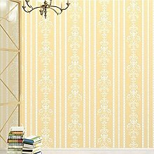 MI-RAN umweltfreundliche Wandtapetebild Mustertapete fuer Wohnzimmer,Einfacher europäischer Stil 950x53 cm ,A27121 , Gold
