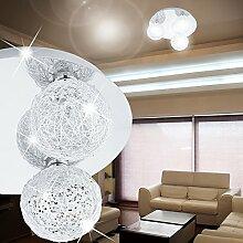 MIA Light 3-flammige Deckenleuchte aus Glas und