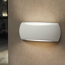 MIA Light Außen LED Wandleuchte Weiß / Wandlampe Außenleuchte Außenlampe