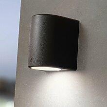 MIA Light Außen LED Wandstrahler/Wandleuchte