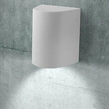 MIA Light Außen LED Wandstrahler / Wandleuchte Wandlampe Fassadenstrahler Außenleuchte