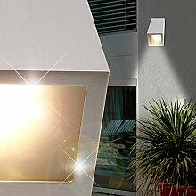 MIA Light Außen Wandstrahler/Wandleuchte Wandlampe Fassadenstrahler Außenleuchte