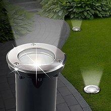 MIA Light Boden Einbau Strahler AUSSEN Ø150mm/
