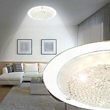 MIA Light Deckenleuchte mit Kristallen und LED in