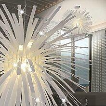 MIA Light Deko Hänge Leuchte Design/ Weiß/ Pendel Lampe Hängelampe Hängeleuchte Pendellampe Pendelleuchte